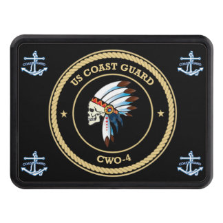 USCG Chief Warrant Officer 4 Trailer Hitch Cover