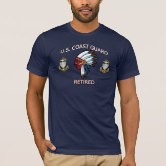 USCG CPO Retired Indian Shirt