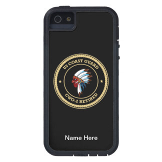 USCG  CWO-2 Retired Indian Chief Shield iPhone SE/5/5s Case