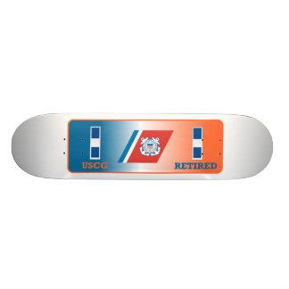 USCG CWO-3 Retired Shield Skateboard Decks