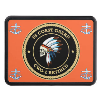 USCG d Chief Warrant Officer 2 Hitch Cover
