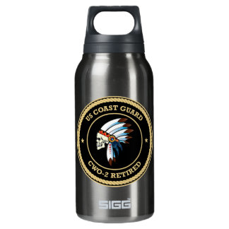 USCG d Chief Warrant Officer 2 Insulated Water Bottle