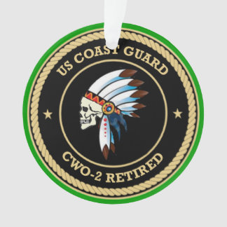 USCG d Chief Warrant Officer 2 Ornament