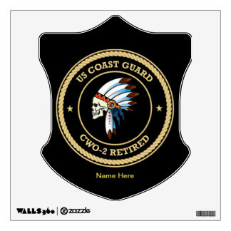 USCG d Chief Warrant Officer 2 Wall Decal