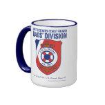USCG Dads' Division 15 oz Ringer Mug