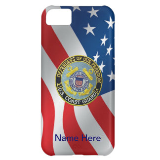 USCG Defenders of Freedom Custom Cover For iPhone 5C
