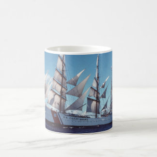 USCG Eagle Sail Boat Coffee Mug