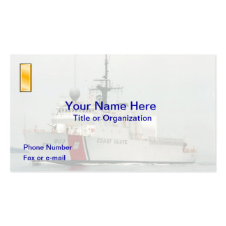 USCG Ensign Business Card