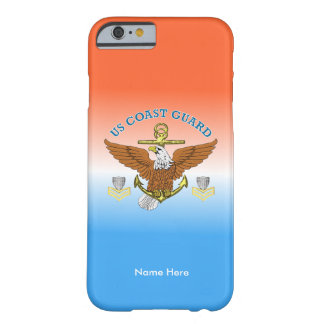 USCG First Class Eagle Anchor Shield Barely There iPhone 6 Case