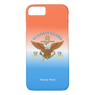 USCG First Class Eagle Anchor Shield iPhone 8/7 Case