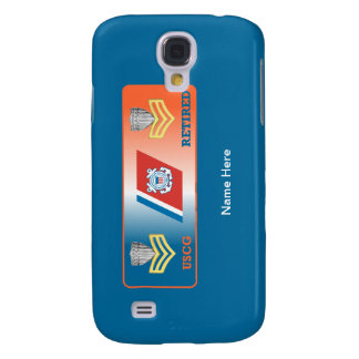 USCG First Class Petty Officer Retired Shield Galaxy S4 Cover