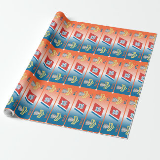 USCG First Class Petty Officer Shield Wrapping Paper