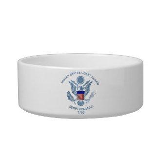 USCG Flag Emblem Bowl