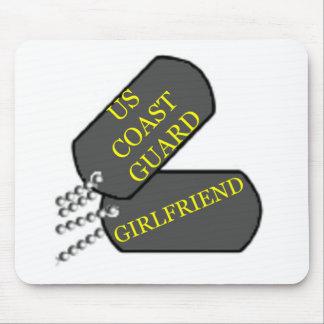 USCG Girlfriend Mouse Pad