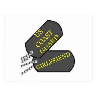 USCG Girlfriend Postcard