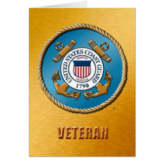USCG Greeting Card With Standard White Envelopes