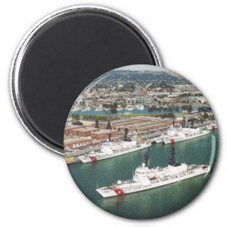 USCG Hamilton Class Cutters Magnet