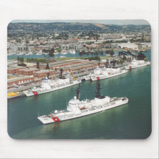 USCG Hamilton Class Cutters Mouse Pad