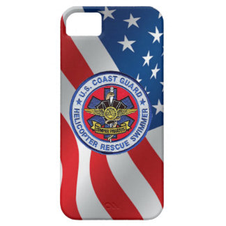 USCG Helicopter Rescue Swimmer iPhone 5 Case