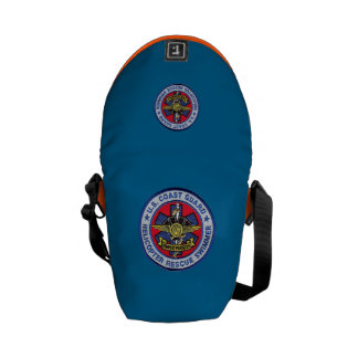 USCG Helicopter Rescue Swimmer Mini Bag Courier Bags