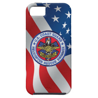USCG Helicopter Rescue Swimmer Vibe iPhone 5 Case