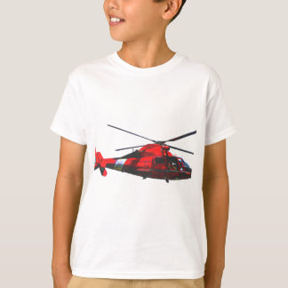 USCG helicopter T-Shirt