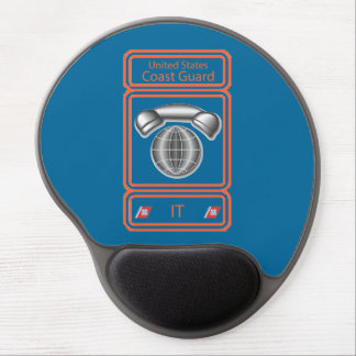 USCG Information Systems Technician Gel Mouse Mats