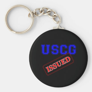 USCG Issued Keychain