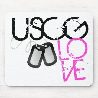 USCG Love Mouse Pad