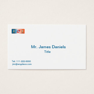 USCG Master Chief Petty Officer (MCPO) Shield Business Card