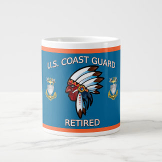 USCG  Master Chief Petty Officer Retired Large Coffee Mug