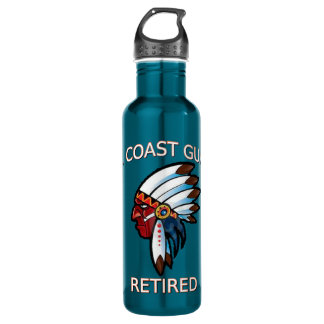 USCG  Master Chief Petty Officer Retired Stainless Steel Water Bottle