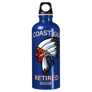 USCG  Master Chief Petty Officer Retired Water Bottle