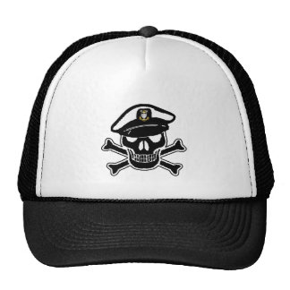 USCG Master Chief Scull Hat