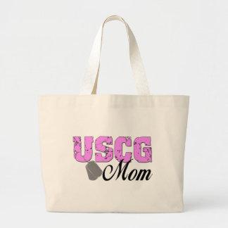 USCG Mom Jumbo Tote Bag