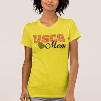 USCG Mom T-shirts