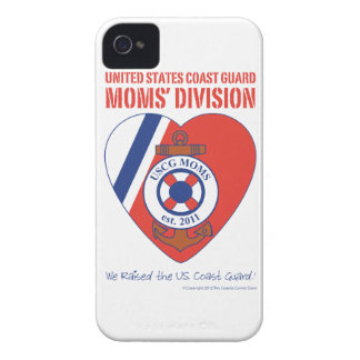 USCG Moms' Division iPhone 4/4S Case-Mate iPhone 4 Cover
