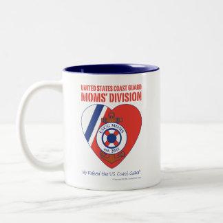 USCG Moms' Division Two-Tone Mug