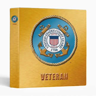 """USCG One Touch EZD™ Ring Avery Signature 1"""" Binder"""