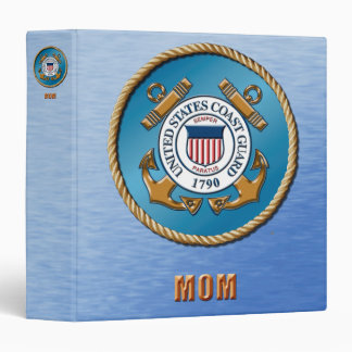 USCG One Touch EZD™ Ring Avery Signature 3 Ring Binder