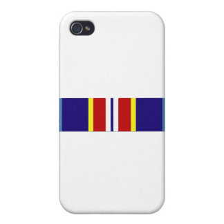 USCG Overseas Service Ribbon Case For iPhone 4