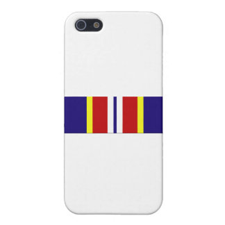 USCG Overseas Service Ribbon Cover For iPhone SE/5/5s