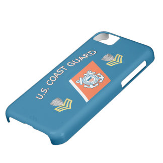 USCG Petty Officer First Class Racing Stripe iPhone 5C Cases