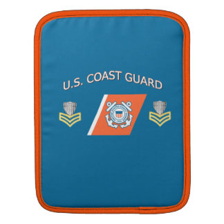 USCG Petty Officer First Class Racing Stripe Sleeves For iPads