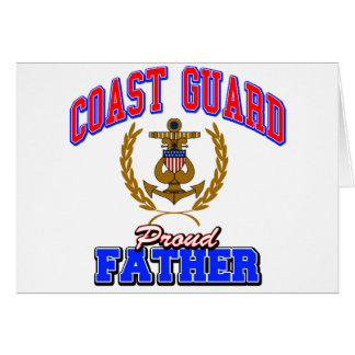 USCG Proud Father Card