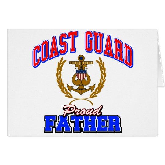 USCG Proud Father Card
