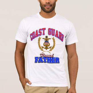 USCG Proud Father T-Shirt