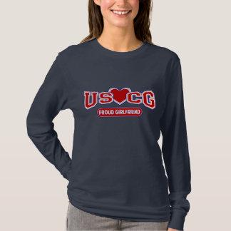 USCG Proud Girlfriend T-Shirt