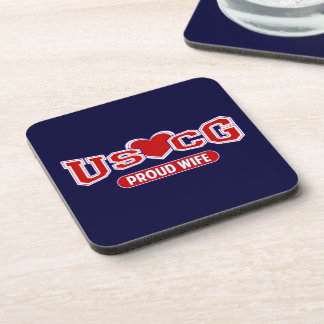 USCG Proud Wife Coaster
