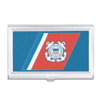 Coast guard business card holder best business cards us coast guard racing stripe gifts on zazzle federal law enforcement business cards colourmoves